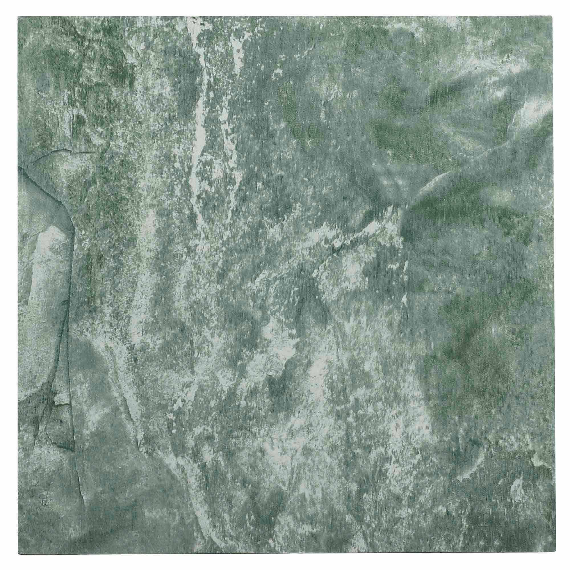 NEXUS Verde Marble Vein 12x12 Self Adhesive Vinyl Floor Tile - 20 Tiles/20 Sq.Ft.