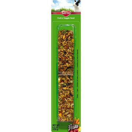 Fruit Veggie Treat - Fiesta Fruit and Veggie Treat Stick for Rabbits