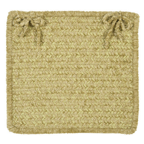 Colonial Mills Simple Chenille Chair Pad - 15 x 15 in. - Set of 4