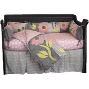 Cotton Tale Designs Poppy 4 Piece Crib Bedding Set