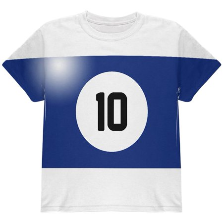10 Opinions About Halloween (Halloween Billiard Pool Ball Ten Costume Youth T)