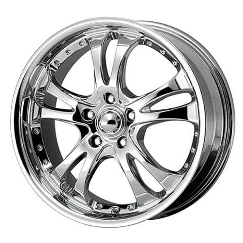 American Racing Custom Wheels Ar683 Casino Triple Chrome Plated
