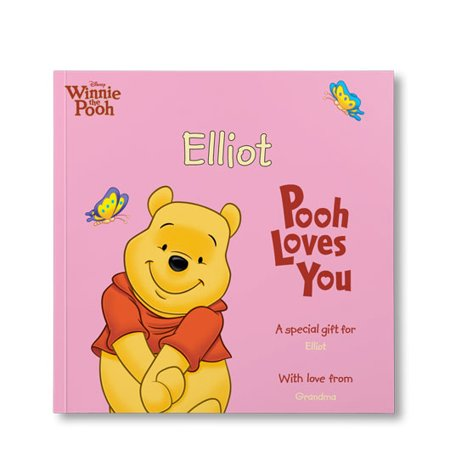Disney's Pooh Loves You! - Personalized Book](Disney Personalized Gifts)