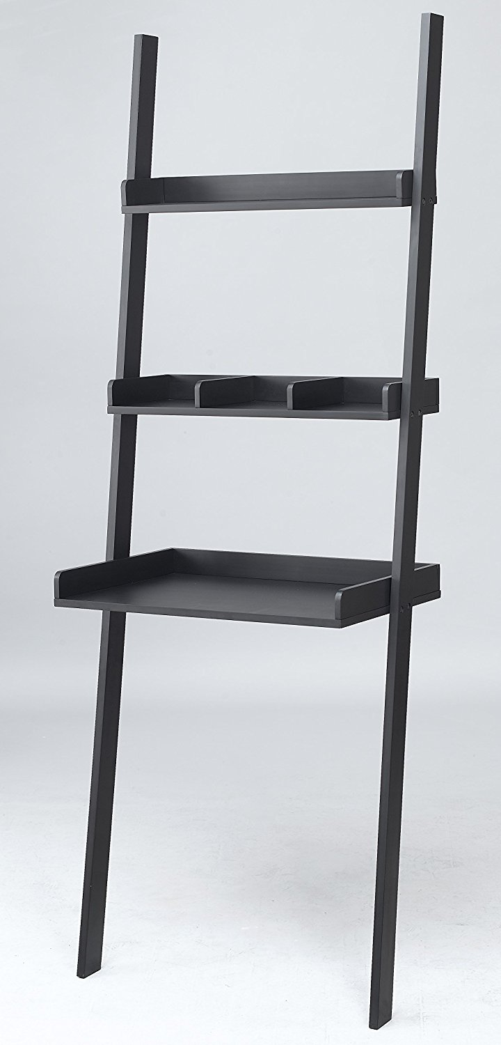 3 Tiered Ladder Shelving Display Stand, Bookshelf Storage Rack by