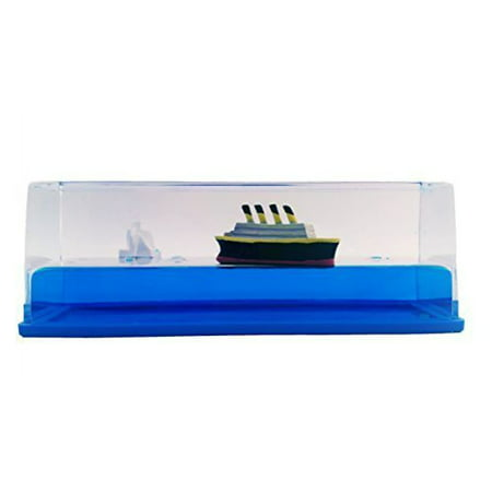 Titanic Liquid Wave Paperweight Desk Toy