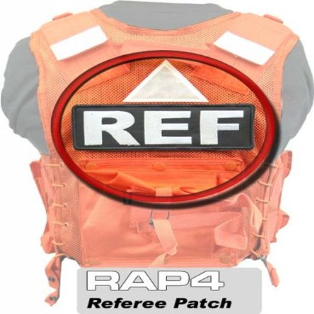 Referee Rear Patch - paintball apparel