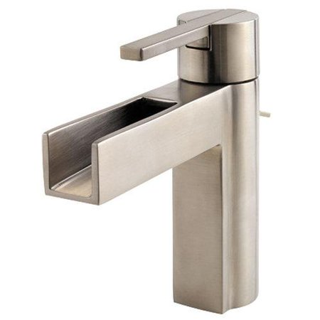 Pfister F042-VGKK Pfister Single Hole Bathroom Sink Faucet F042VGKK Brushed -
