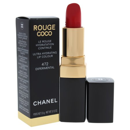 Rouge Coco Ultra Hydrating Lip Colour - 472 Experimental by Chanel for Women - 0.12 oz Lipstick