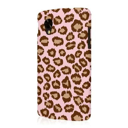 Nexus 5 Case, EMPIRE Signature Series One Piece Slim-Fit Case for Google Nexus 5 - Pale Pink Leopard (1 Year Manufacturer