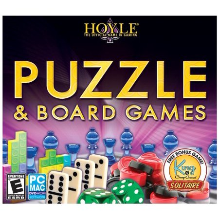 Buy Hoyle Classic Puzzle Board JC CD-ROM Mac OS X / Windows XP / Windows 7 / Windows Vista Before Special Offer Ends