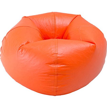 Pleasant 96 Round Vinyl Matte Bean Bag Multiple Colors Andrewgaddart Wooden Chair Designs For Living Room Andrewgaddartcom