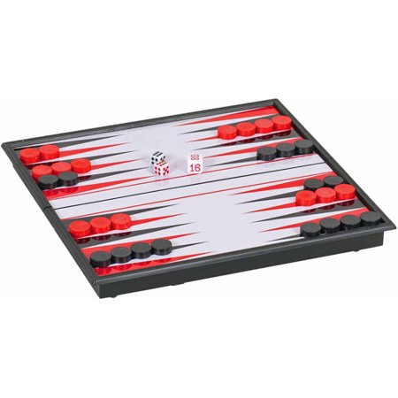 Magnetic Backgammon Set, Small Travel Size