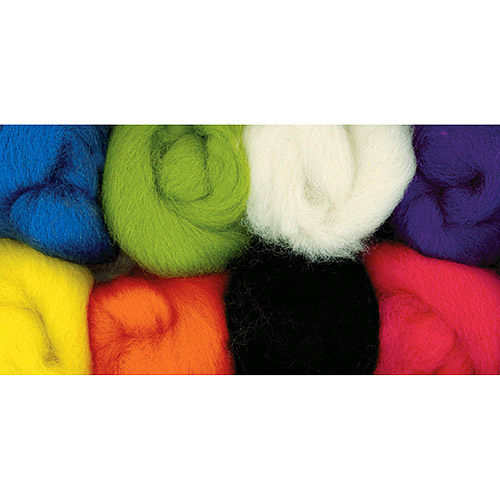 "Wistyria Editions Wool Roving 12"", 2-Ounce, 8-Pack, Classic"