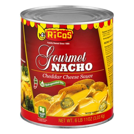 Gourmet Cheese Spread - Rico's Gourmet Nacho Cheese Sauce, 107 Oz