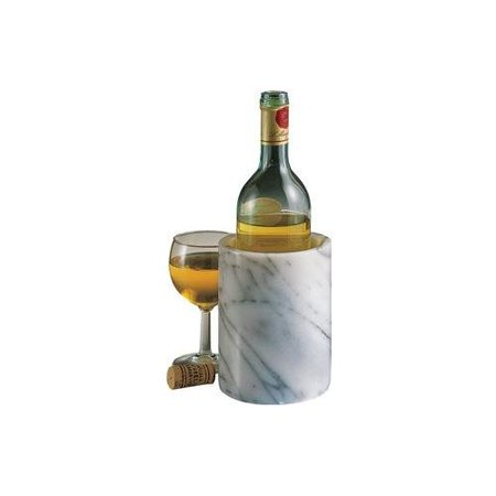 Rsvp International White Marble Wine Chiller And Tool