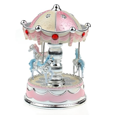Smart Novelty Merry-Go-Round Music Box Christmas Birthday Gift Carousel Music Box PK