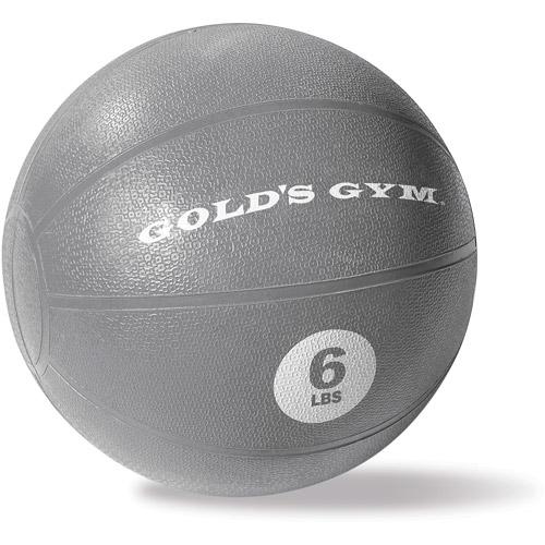 Gold's Gym 6 lb Rubber Medicine Ball