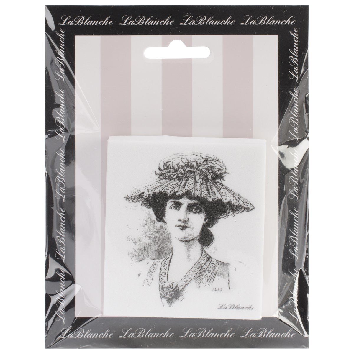 "LaBlanche Silicone Stamp 2.75""X3""-Louise"