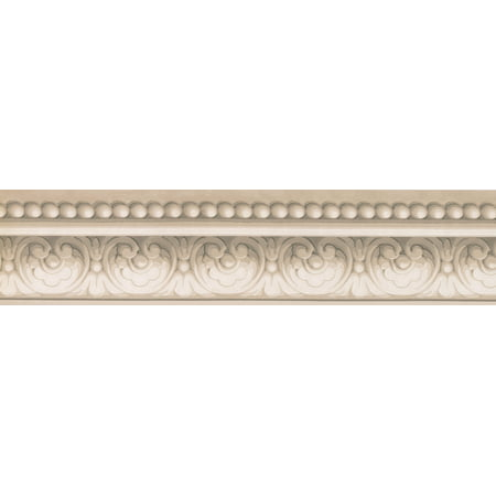 Grey white damask crown molding wallpaper border classic design roll 15 39 x 5 5 39 39 walmart canada - Crown molding wallpaper ...
