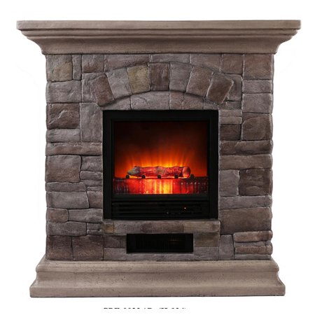Loon Peak Baden Portable Electric Fireplace Walmart Com