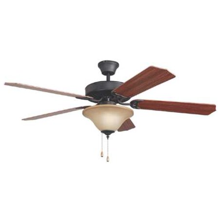 Bala Dual Mount Ceiling Fan With Bowl Light Kit 52 In Aged Bronze