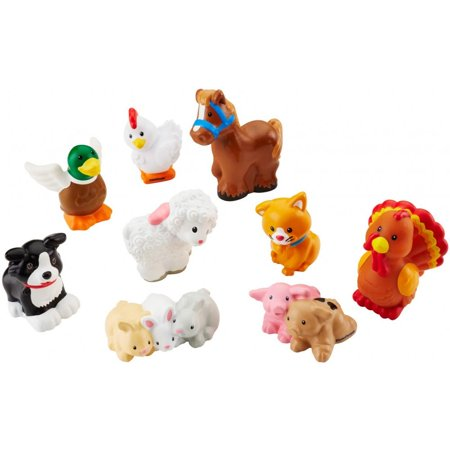 Little People Farm Animals - Fisher Price Animals Of The Rainforest