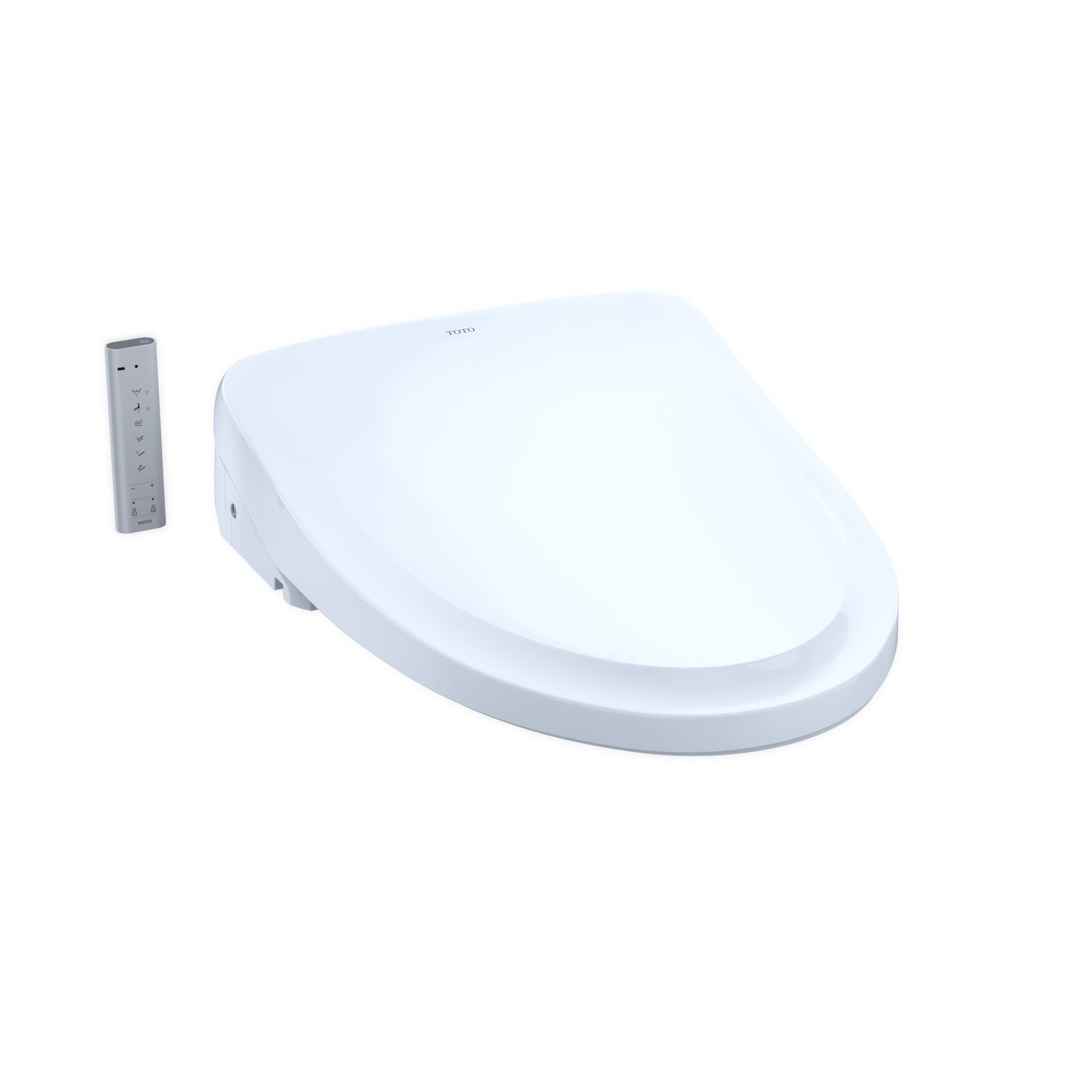 WASHLET S550e Elongated Bidet Toilet Seat with ewater+ and Auto Open and Close Classic Lid, Cotton White - SW3054#01