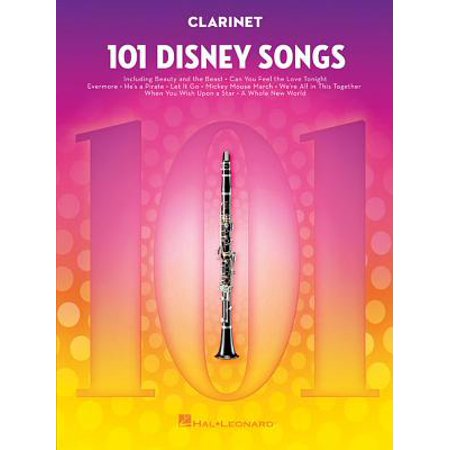 101 Disney Songs : For Clarinet