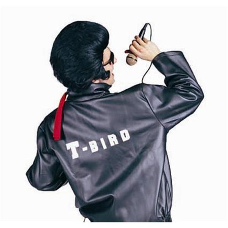 T-Bird Satin Jacket Costume - Size Child-Medium](Diy Pizza Costume)