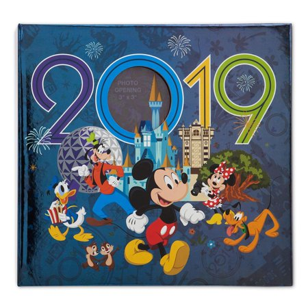 Disney Parks 2019 WDW Minnie and Friends Photo Album Medium Holds 200 Photos