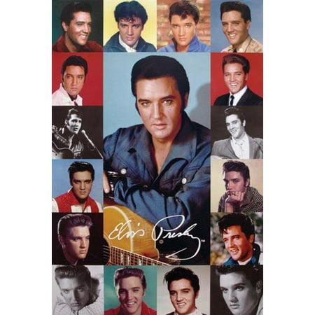 Elvis Presley Composite Poster - 24x36