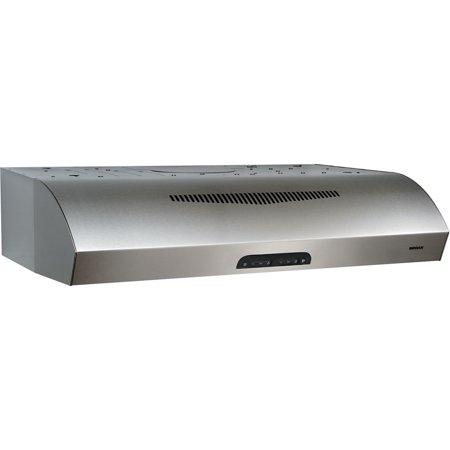"30"" Range Hood 3-Speed Aluminum Micromesh Filter 4 Lamps 350 CFM"