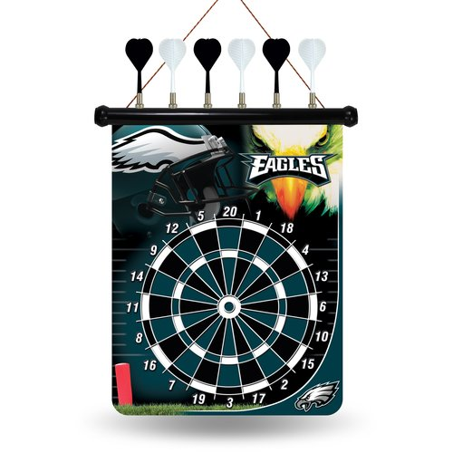 Rico Industries Inc NFL Magnetic Dartboard Set by