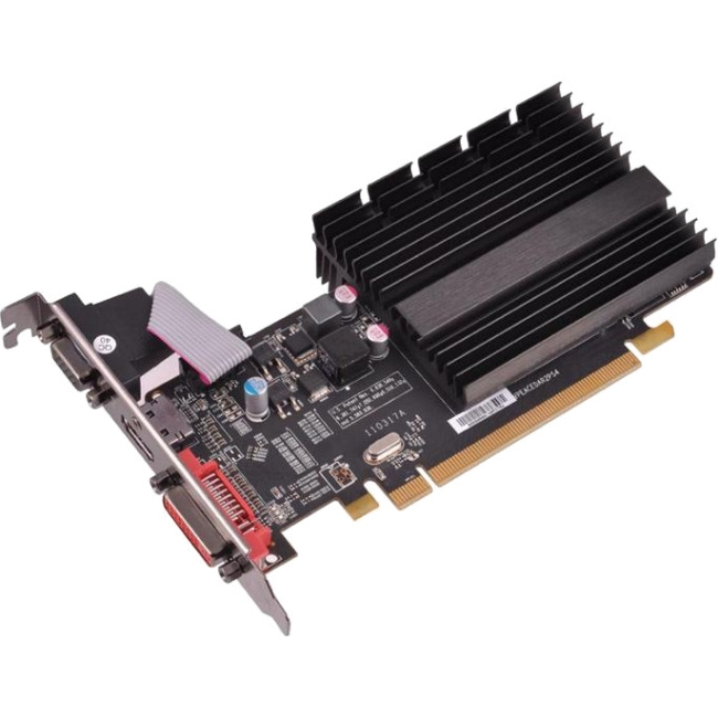 Xfx R Radeon Hd 5450 Graphic Card - 650 Mhz Core - 1 Gb Sddr3 - Pci Express 2.1 X16 - Low-profile - 1066 Mhz Memory Clock - 2560 X 1600 - Passive Cooler - Directx 11.0, Opengl 3.2, Opencl (onxfx1pls2)