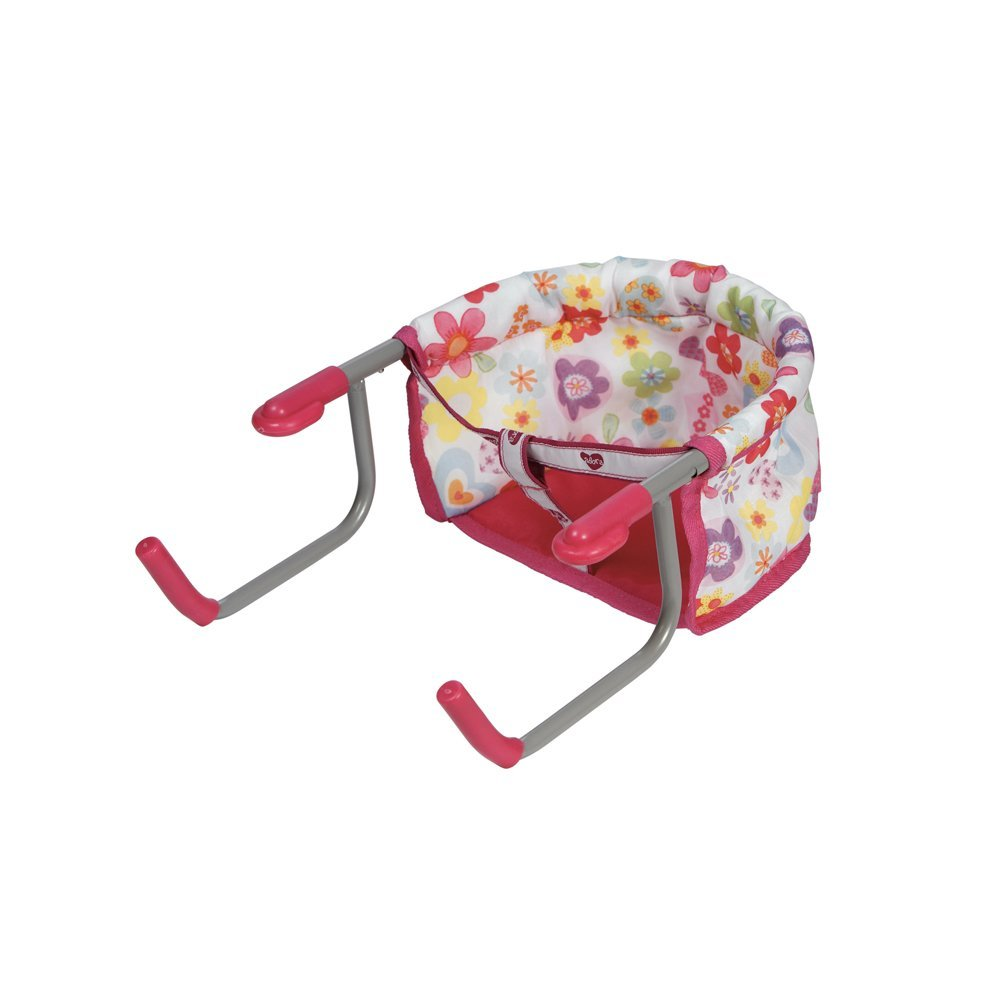 Doll Accessories Portable Table Feeding Seat for Children...