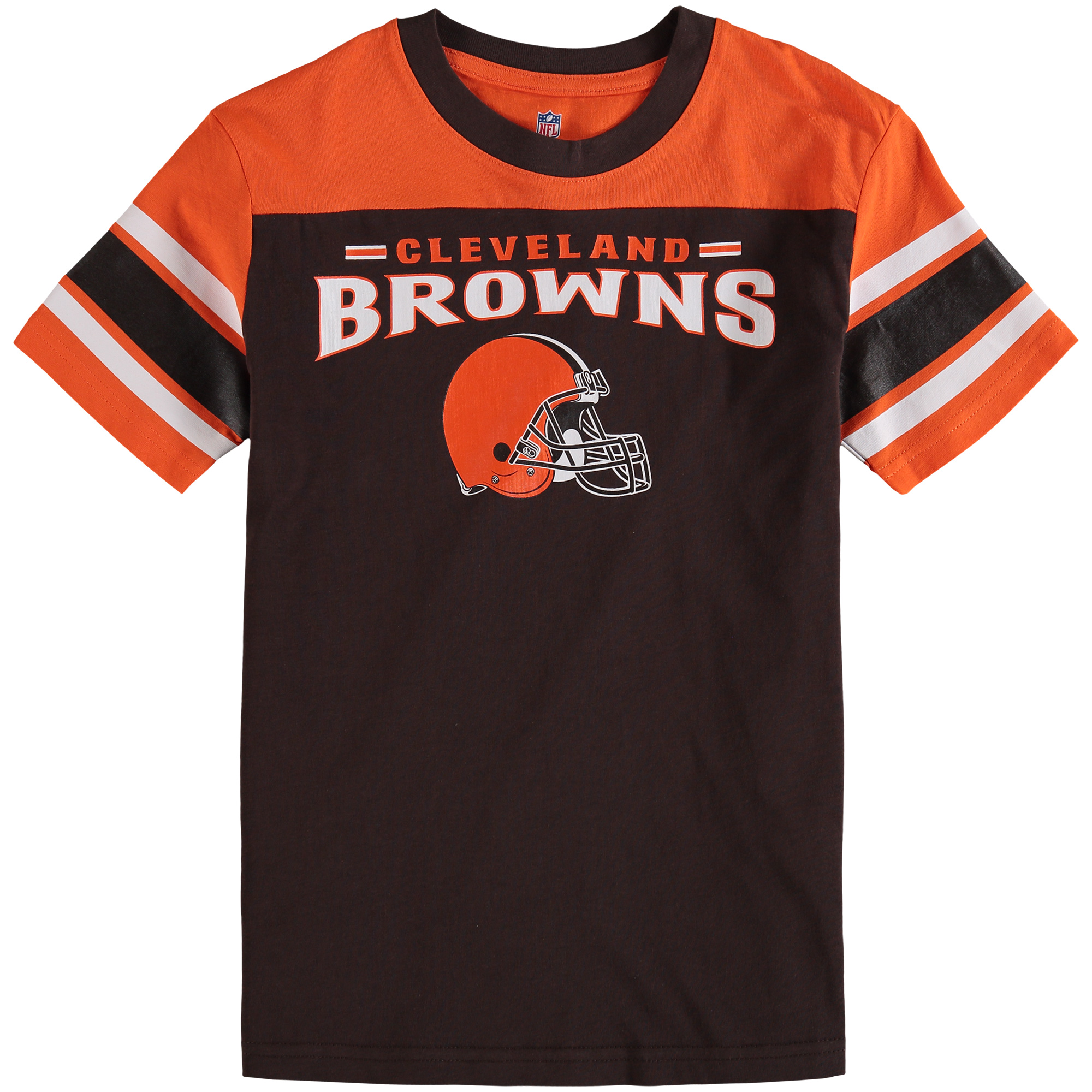 Cleveland Browns Youth Fan Gear Loyalty T-Shirt - Brown