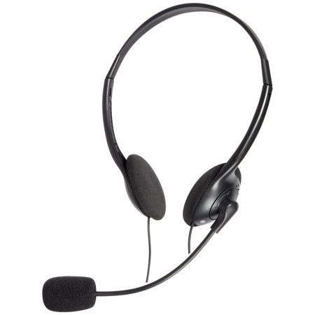 - Onn Pc Headset With Boom Microphone