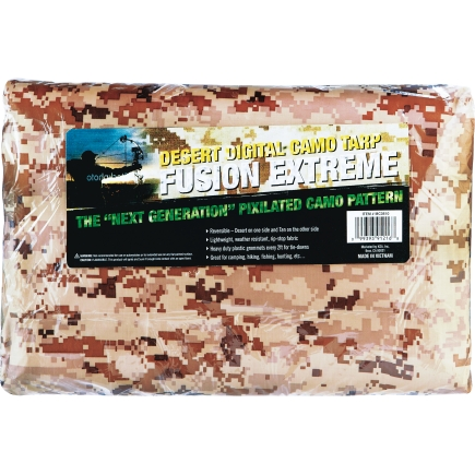 Ds1216 Fusion Extreme 12Ft X 16Ft Dessert Tan Digital Camoflouge Tarp
