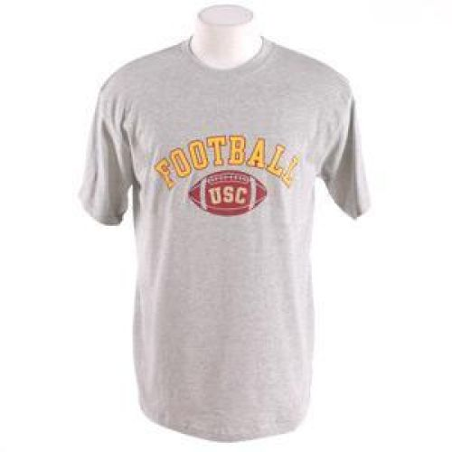 Usc Trojans Football T-shirt Football Arched By Champion Oxford Heather by Champion