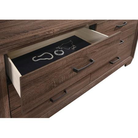 Coaster Company Brandon Transitional Dresser, Medium Warm Brown ()