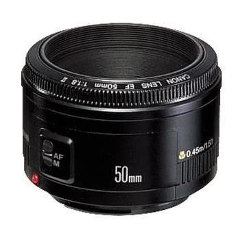 Canon EF 50mm f/1.8 II Camera Lens With 2x Opteka LP-E5 1800mAh, Opteka RC-4 Wireless Remote Control for Canon EOS, Opteka 52mm UV Filter And More For Canon EOS XS, XSi & T1i Digital SLR Cameras