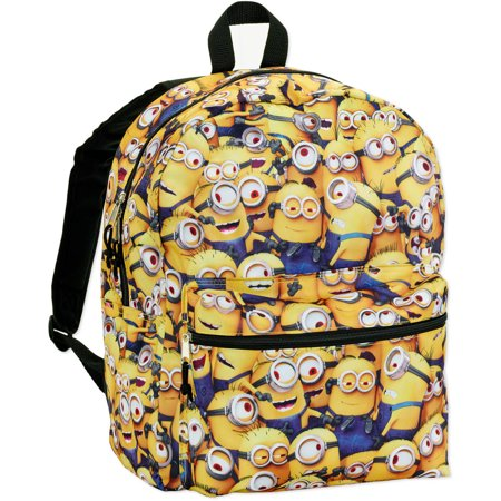e1188684fc6 Despicable Me - All Over Minions Kid s Backpack - Walmart.com