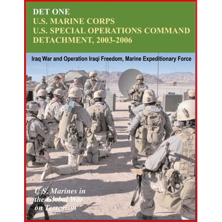 Det One: U.S. Marines Corps U.S. Special Operations Command Detachment 2003-2006 - Global War on Terrorism, Iraq War and Operation Iraqi Freedom, Marine Expeditionary Force - (Global War On Terrorism Expeditionary Medal Army)