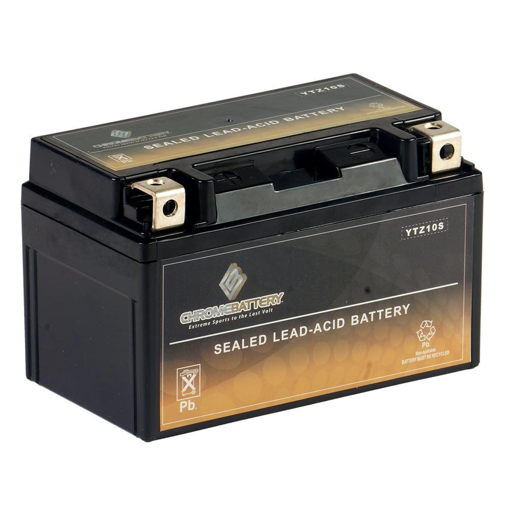 YTZ10S-BS Motorcycle Battery for HONDA CBR600F4i, 600RR Year (01-17)