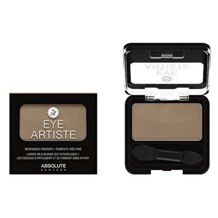 Eye Artiste Single Shadow Smoked Taupe (Matte), NATURAL: Use nude, skin-tone shadows in hues slightly lighter and darker than your skin tone to.., By ABSOLUTE NEW