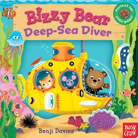 Deep Diver Manual - Bizzy Bear: Deep-Sea Diver (Board Book)