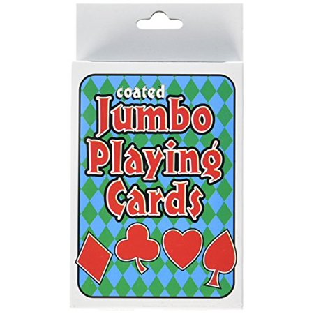 MD Wholesalers Playing Cards, Jumbo - image 1 of 3