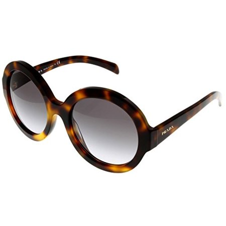 2e844947f1b72 Prada - Prada Sunglasses Women Havana Round PR06RS TKR3D0 Size  Lens   Bridge  Temple  56-21-140 - Walmart.com