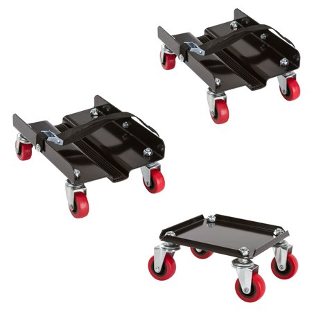Black Ice Snowmobile Dolly Set (Package of