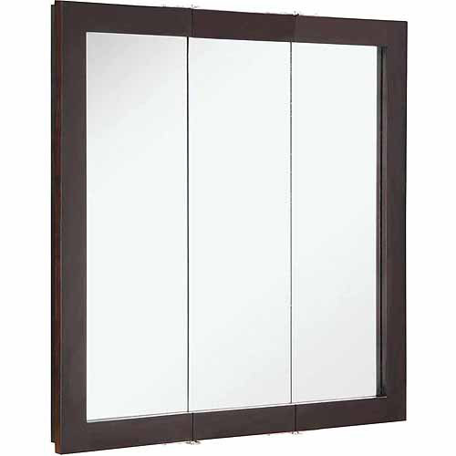 Click here to buy Design House 541342 Ventura Espresso Tri-View Medicine Cabinet Mirror by Generic.